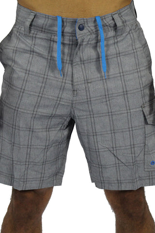 SQUARED UP BOAT SHORT - GREY