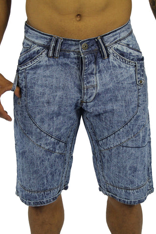 ROCKETEER DENIM SHORT - LIGHT WASH