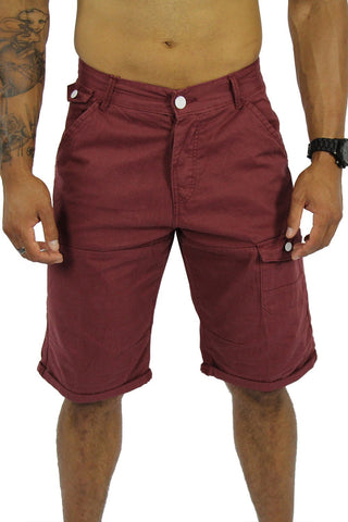 COBRA SHORTS - BURGUNDY