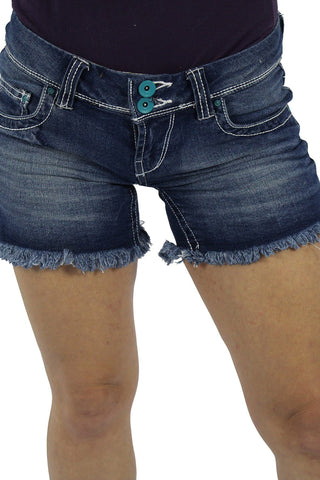 ONYX DENIM SHORT - LIGHT WASH