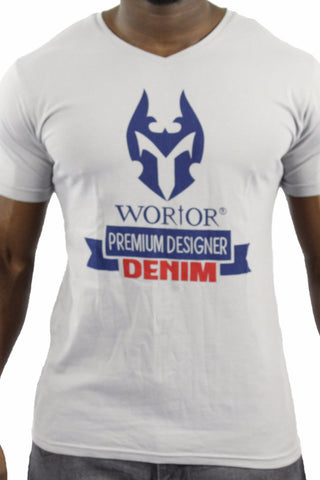 WORIOR T-SHIRT - LIGHT GREY