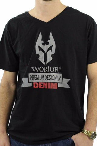 WORIOR T-SHIRT - BLACK
