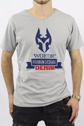 WORIOR T-SHIRT - GREY