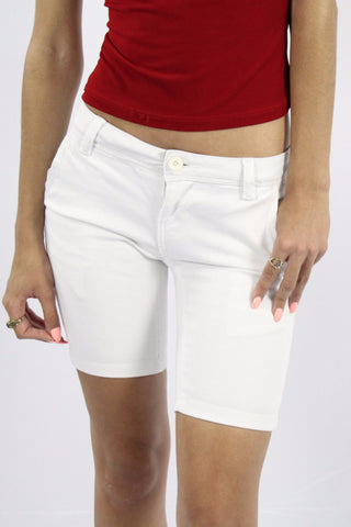 APPLE LIGHT NON DENIM SHORT - WHITE
