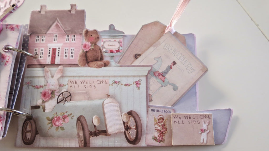 2 Shabby Chic Scrapbook Embellishments Ideas