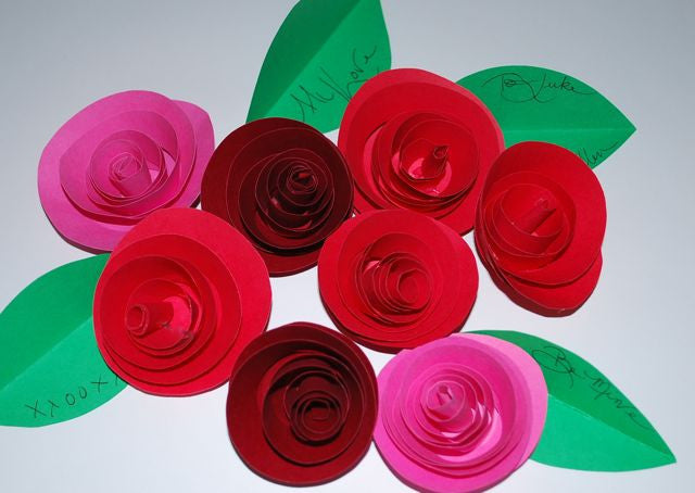 Easy Rose Paper Ideas