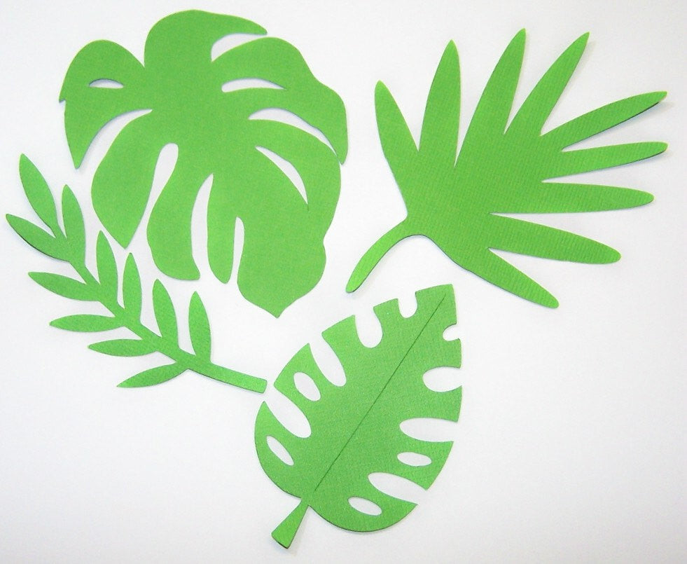 Get that Palm Leaf Background in your Vacation Scrapbook