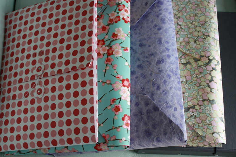 Getting Creative and Organized With Polka Dot Scrapbook Paper