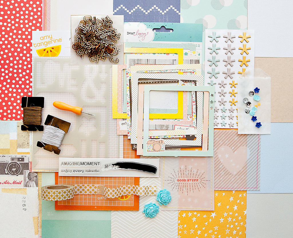 HOW TO SCRAPBOOK WITH A BUDGET OF JUST $50!