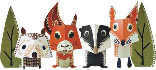 Safari Print Paper Craft Ideas
