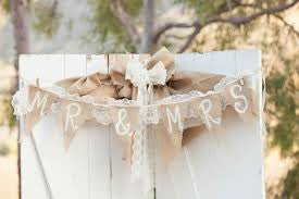 Wedding Burlap Ideas