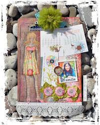 How to Create Scrapbook Paper Vintage Clipboards