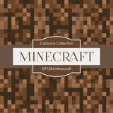 Minecraft Digital Paper DP1334 - Digital Paper Shop - 2