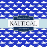 Nautical Digital Paper DP2317 - Digital Paper Shop - 2