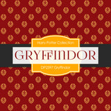 Gryffindor Digital Paper DP2597 - Digital Paper Shop - 2