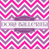 Dora Ballerina Digital Paper DP1954 - Digital Paper Shop - 2