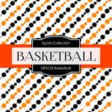 Basketball Digital Paper DP4133 - Digital Paper Shop - 2