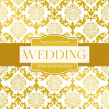 Gold Wedding Digital Paper DP802 - Digital Paper Shop - 2
