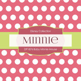 Baby Minnie Mouse Digital Paper DP1876 - Digital Paper Shop - 2