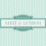 Mint Lemon Digital Paper DP200 - Digital Paper Shop - 2