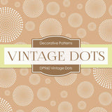 Vintage Dots Digital Paper DP960 - Digital Paper Shop - 2