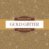 Gold Glitter Papers Digital Paper DP161 - Digital Paper Shop - 2