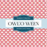 Owl' O Ween Digital Paper DP2334 - Digital Paper Shop - 2