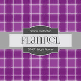 Bright Flannel Digital Paper DP4071A - Digital Paper Shop - 2