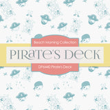 Pirate's Deck Digital Paper DP6440