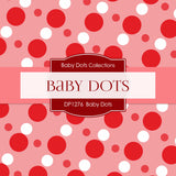 Baby Dots Digital Paper DP1276 - Digital Paper Shop - 2