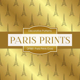 Paris Prints Gold Digital Paper DP881 - Digital Paper Shop - 2
