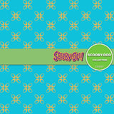 Scooby Doo Digital Paper DP3097 - Digital Paper Shop - 2