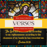 Verses From Psalms Digital Paper DP6635