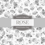 Shabby Grey Digital Paper DP925 - Digital Paper Shop - 2