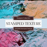 Stamped Texture Digital Paper DP2208 - Digital Paper Shop - 3