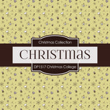 Christmas College Digital Paper DP1517 - Digital Paper Shop - 2