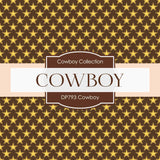 Cowboy Digital Paper DP793 - Digital Paper Shop - 2