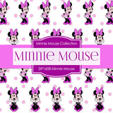 Minnie Mouse Digital Paper DP1608 - Digital Paper Shop - 2