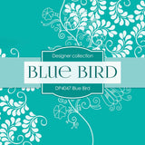 Blue Bird Digital Paper DP4047 - Digital Paper Shop - 2
