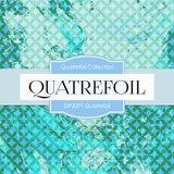 Quatrefoil Digital Paper DP2091 - Digital Paper Shop - 3