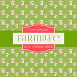 Farmyard Friends Digital Paper DP1611 - Digital Paper Shop - 2
