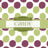 Sweet Candy Cane Digital Paper DP2431 - Digital Paper Shop - 2