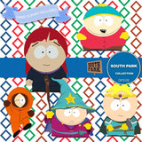 South Park Digital Paper DP3105 - Digital Paper Shop - 3