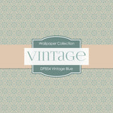 Vintage Blue Digital Paper DP854 - Digital Paper Shop - 2