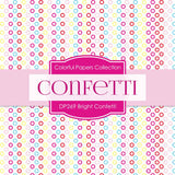 Bright Confetti Digital Paper DP269 - Digital Paper Shop - 3