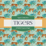 Tropical Tiger Digital Paper DP6854
