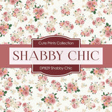 Shabby Chic Digital Paper DP829 - Digital Paper Shop - 2