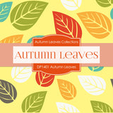 Autumn Leaves Digital Paper DP1401 - Digital Paper Shop - 3