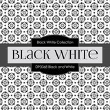 Black and White Digital Paper DP3368