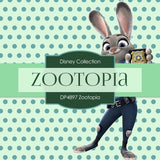 Zootopia Digital Paper DP4897 - Digital Paper Shop - 3